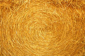 Haystack texture — Stock Photo
