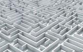 Maze labyrinth — Stock Photo
