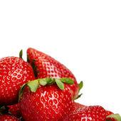 Strawberry hintergrund — Stockfoto