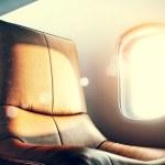 Airplane interior — Stock Photo #48038791