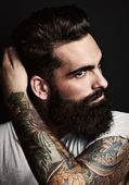 Bearded man — Stock Photo