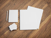 Stationery set — Stock Photo