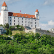 The Bratislava castle — Stock Photo