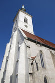 St. Martins cathedral in Bratislava, Slovakia — Stock Photo