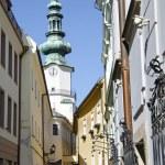 The Michaels gate in Bratislava, Slovakia — Stock Photo