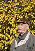 The senior man portrait — Stock Photo