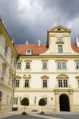 Valtice, the courtyard of renaissance castle — Stock Photo