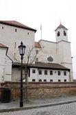 Brno, the main entrance in Spilberk castle — Foto de Stock