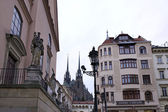 Brno, the gothic cathedral — Stock Photo