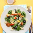 Salad with fruits and vegetables — Stock Photo