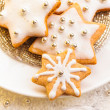 Christmas cookies - Stock Photo