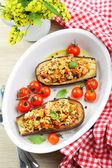 Pasto di melanzane — Foto Stock