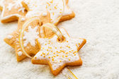 Christmas cookies — Stockfoto
