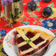 Plum tart — Stock Photo