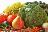 Autumn fruits and vegetables — Stock Photo