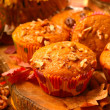 Pumpkin muffins — Stock Photo #31998859