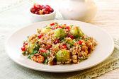 салат теплый гречневая — Стоковое фото