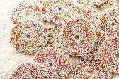 Christmas chocolate Sprinkle — Stock Photo