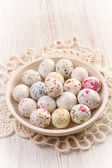 Chocolate easter eggs candy — Foto Stock