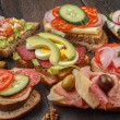 Sandwiches — Stock Photo