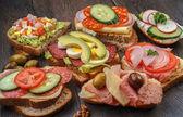 Бутерброды — Стоковое фото