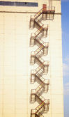 Merdiveni duvar — Stok fotoğraf