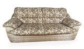 Gray sofa — Стоковое фото