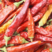 Red hot chilly pepers — Stock Photo