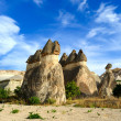 Cappadocia. Stone pillars - Stock Photo