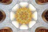 абу даби. мечеть шейха заида — Стоковое фото