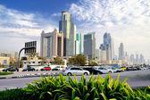 Dubai. centro de comércio de mundo — Fotografia Stock