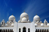 Abu-Dhabi. Sheikh Zayed mosque — Stock Photo