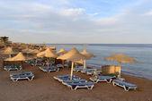 Evening beach in Sharm el Sheikh — Stock Photo
