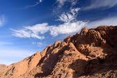 Sinai mountains — Stock Photo