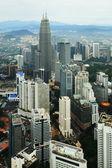 Aerial view of Kuala Lumpur — Stock Photo