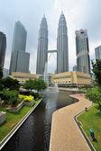 Kuala Lumpur. Petronas Twin Towers — Stok fotoğraf