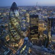 Stock Photo: City of London Skyline At Sunset