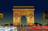 Arc de Triomphe, Paris France — Stock Photo