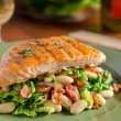 Grilled Salmon — Stock Photo #23948373