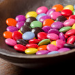 Candy Coated Chocolates — Stock Photo