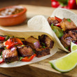 Beef Fajitas - Stock Photo