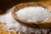 Sal marina - fleur de sel — Foto de Stock