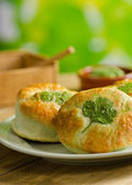 Shamrock Biscuits — Stock Photo