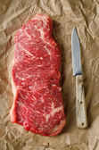 Strip Loin Steak — Stock Photo