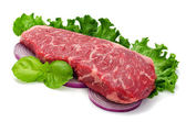 Strip Loin Steak — Stock Photo