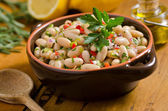 White Bean Cannellini Salad — Stock Photo