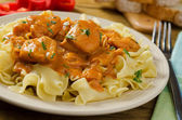 Chicken Paprikash — Stock Photo