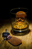 Don't Drink and Drive — Stock Photo