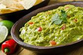 Trempette guacamole — Photo