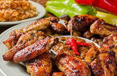 Chicken Wings — 图库照片